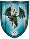 Schild Jona blau - klein