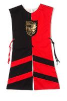 Wappenrock Löwe schwarz/rot, Gr. 1
