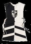 Wappenrock Adler schwarz/weiß, Gr. 2