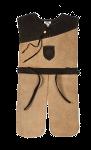 Rittergewand Leder, hellbraun