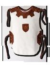 Ritterhemd Leinen, weiß