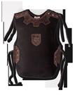 Ritterhemd Leinen, schwarz