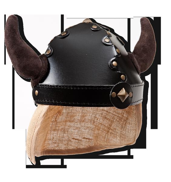 Helm mit Hörnern, Gr. S-M