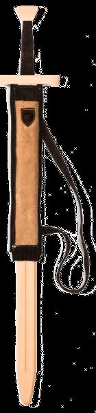 Doppelhänder-Set Leder hellbraun